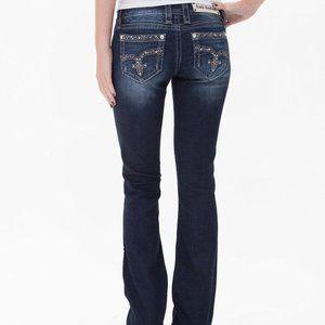 ROCK REVIVAL Jazlyn Bootcut jeans sz 25 inseam 33